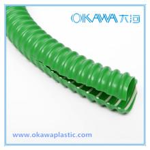 Manguera reforzada de PVC flexible para la protección del cable de alambre