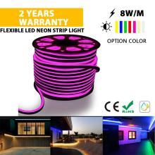 Hochwertiges LED-Neonstreifenlicht Rosa Farbe