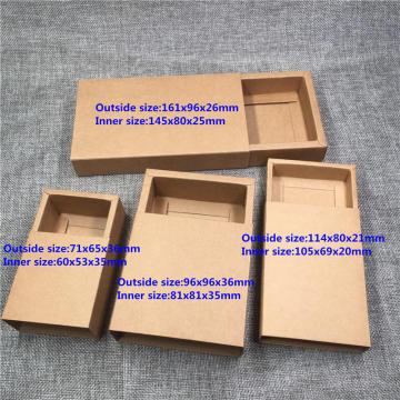 empaquetado de la caja del cajón empaquetado de la caja de la torta