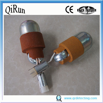 Oxygen and Sampling Probe for Molten Steel