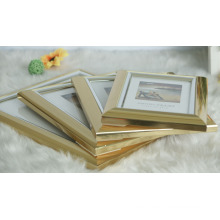 Plastic Frame with Metal-Look by Hot Stamping (BRS-T1)
