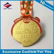 Medalla de recuerdo medallón medallas Medalla de premio militar deporte