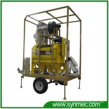 Usine mobile de traitement de nettoyage de haricot de graine (nouveau type)