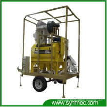 Mobile Seed Bean Cleaning Processing Plant (new type)