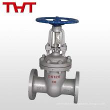 """La válvula de compuerta de vástago de válvula de compuerta de acero fundido WCB de 2 """"aumenta"""