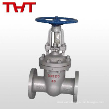 "WCB rising 2"" inch cast steel gate valve stem gate valve make"