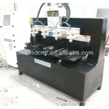 Good price cylinder carving machine 4 axis JK-0825-4 for 3d scrupture engraving