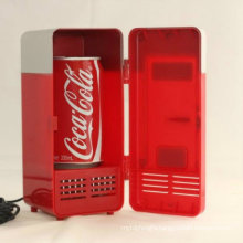 Assurance Payment Direct Sales Freezer Refrigerator Beverage USB Can Cooler Coco Cola Silently Running Mini