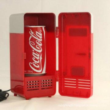 USB Mini Refrigerator USB Electric Refrigerator Computer Refrigerator for Promotion