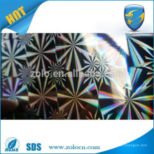 2016 hot sale Chinese quality custom hologram thermal lamination film