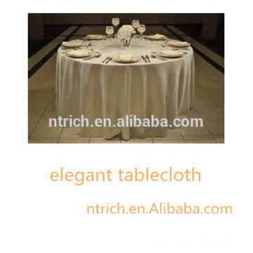 cheap and high quality tablecloth for wedding/ banquet/ party/ hotel, polyester table cloth,satin table cloth