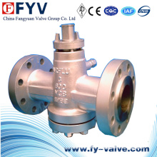 Inverted Oil Seal Pressure Balanced Plug Valve