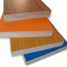 Solid Colorful Melamined Commercial Plywood of Cheap Prices