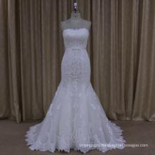 Exquisite Open Back Sweetheart Neck Line Wedding Dress