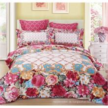 Luxus Stil Hochzeit Verwendung Quilt Abdeckung Bettwäsche Set mit Kissenbezüge König Größe