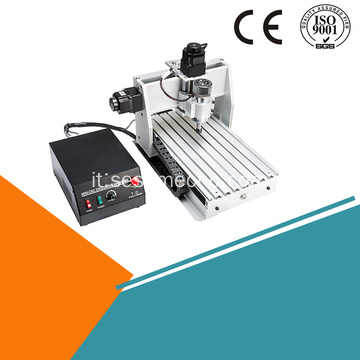 Desktop Mini CNC Rounter 3040 4 assi