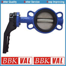 a/Lt Wafer Lug Type Butterfly Valve with Aluminum Lever Wras Approved