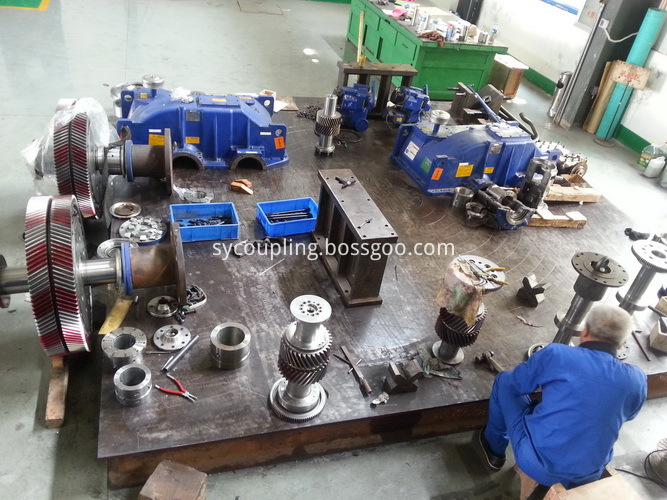 Hydraulic Coupling Maintenance