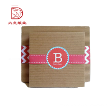 Oem new design fashion paper carton packaging gift box