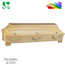 high quality teak cheap coffin