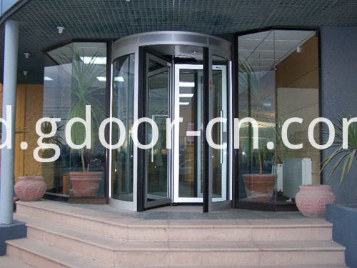 Four-wing Automatic Revolving Doors for Entrances