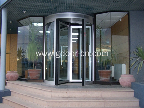 Four-wing Revolving Doors for Conference Centers