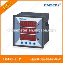 DM72-UIP tension numérique, courant, compteur combiné de puissance fabriqué en Chine