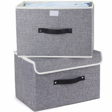 Handles Storage Basket Needs Containers Organizer With Removable Dividers