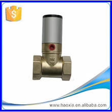 pneumatic piston valve for neutral liquid and gasous