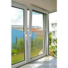 janelas de virada de inclinação de pvc