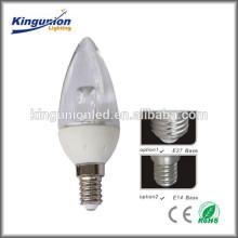 Bougie à LED 3W LED approuvée par ce rosh, led led led light