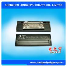 Placa de identificación magnética de grabado de latón de China