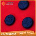 schwarzes Bambusholzkohle komprimiertes Gesichtsmaskenblatt