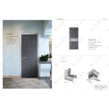 Porte en PVC bon marché, porte de douche bon marché, porte d'entrée moins chère