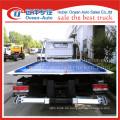 Dongfeng dlk man schleppt zwei Flachbett-Abschleppwagen