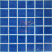 48*48mm Glazed Ceramic Swimming Pool Mosaic Tile (CST125)