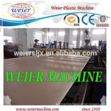 Kitchen cabinet furniture WPC PVC foamed board machine