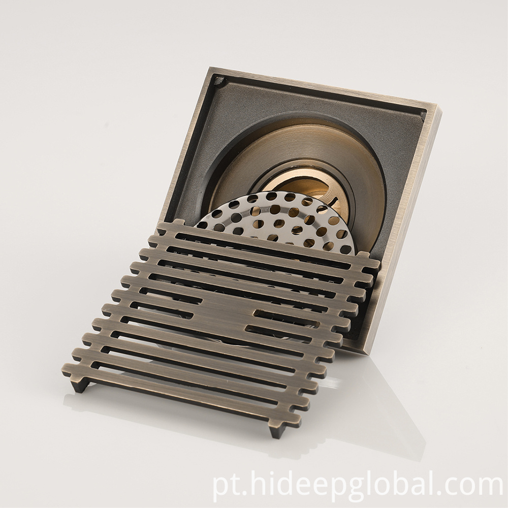 Small Drainage Holes Shower Floor Drain