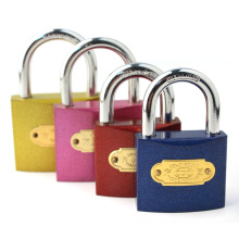 Colourful Iron Padlock, Iron Padlock (AL-20-63)