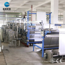 Máquina de lavar e remover óleo para tecido de malha