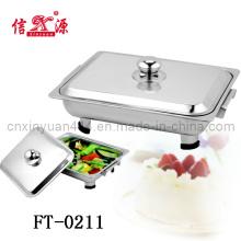 Stainless Steel Steel Lid Buffet Pan (FT-0211)