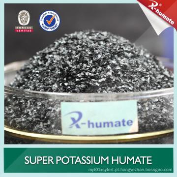 X-Humate marca brilhante flocos de potássio Humate
