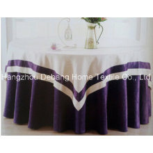 High Quality Jacquard Textile Table Cloth for Hotel Banquet