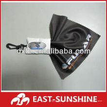 Objektivreinigungstuch, Mikrofaser-Siebreinigungstuch mit Logodruck