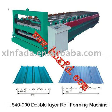 840-900 double layer roll forming machine, roof panel forming machine, double layer forming machine_$8400-30000/set