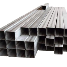 Welded Stainless Steel Square Tube Astm 316 Pipe 304 Stainless Steel Rectangular Tube