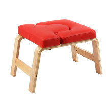 Ultralight Headstand Stool Backless Wooden Inversion Chair Yoga Wood