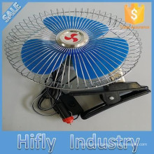 HF-8309 DC 12V/24V Car Fan Oscillating Portable Auto Car Fan 8 Inch Mini Car Fan