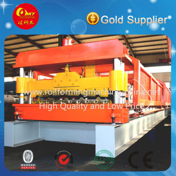 Hochwertige automatische Stahldach-Kaltrollen-Umformmaschine