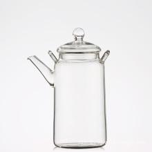 Coffee Tea Leaf Modern Glass Teapot